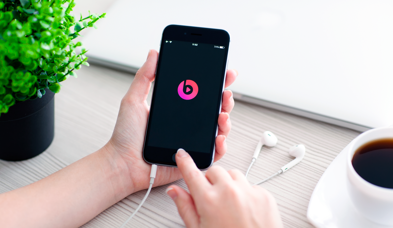 Beats Music num iPhone 6