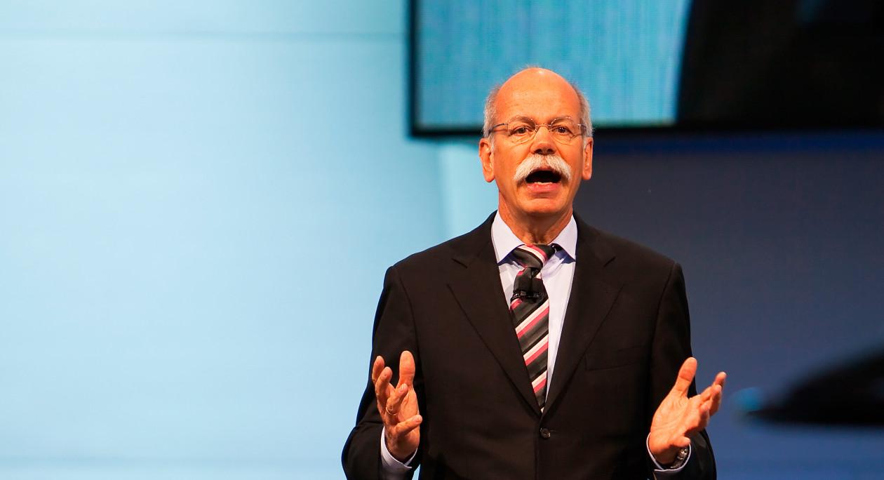 Dieter Zetsche, CEO da Mercedes-Benz