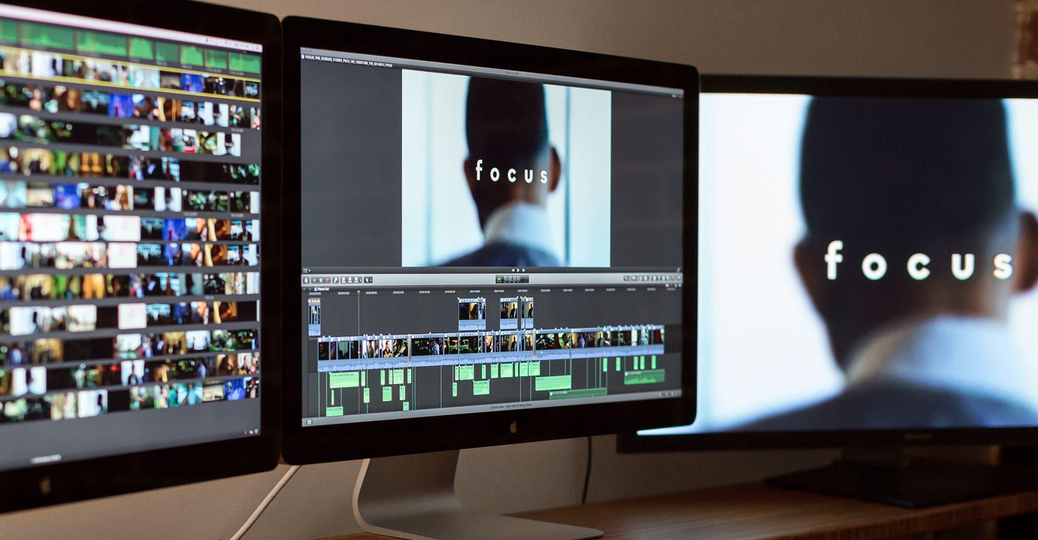 Filme Focus editado no Final Cut Pro X