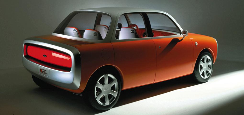 Conceito de carro da Ford por Marc Newson