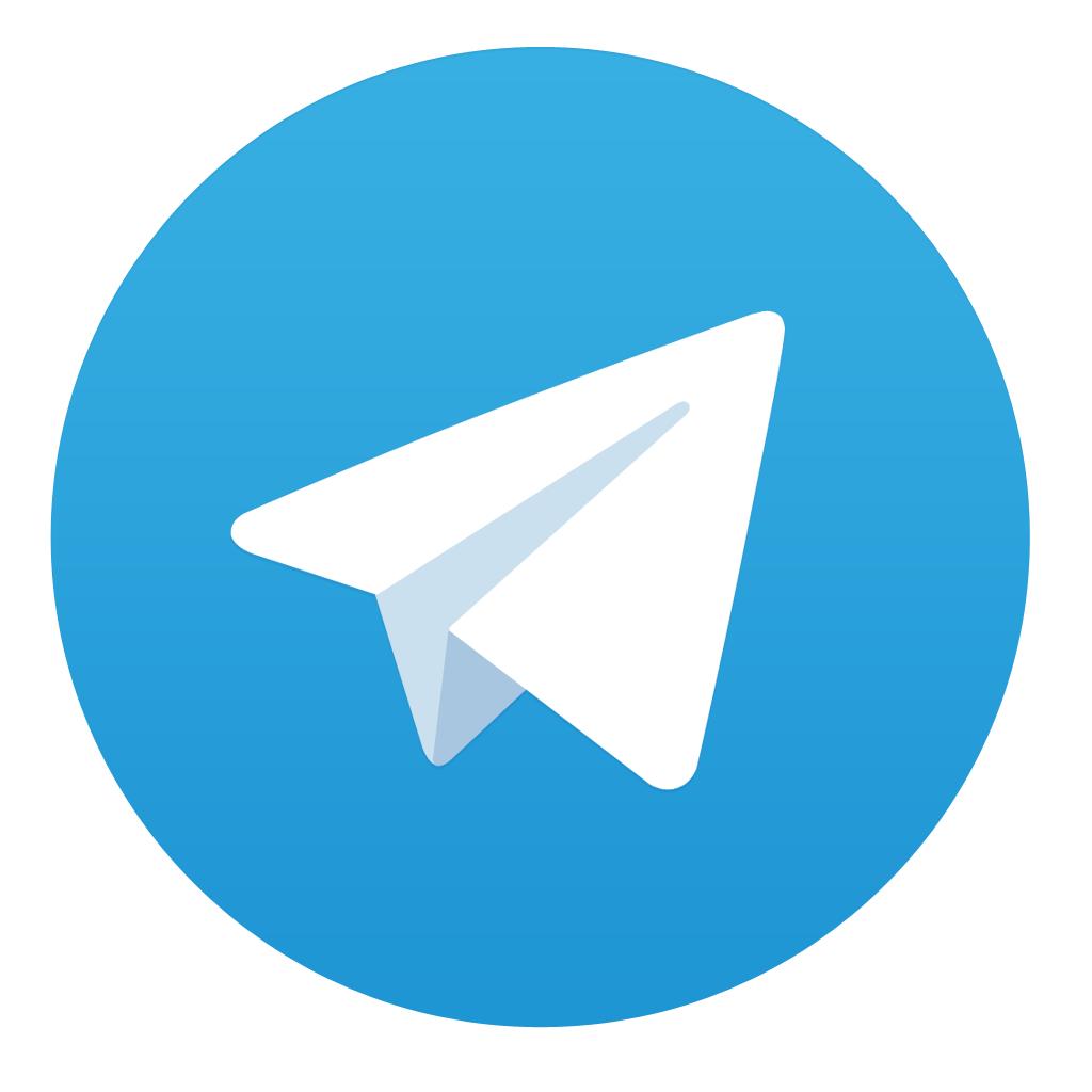 Ícone do app Telegram para iOS