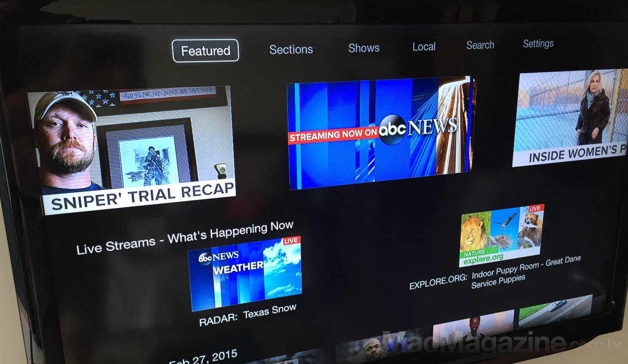 ABC News na Apple TV brasileira