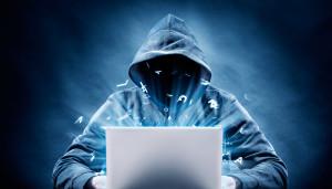 Hacker num computador