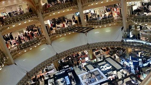 Suposta loja da Apple na Galeries Lafayette