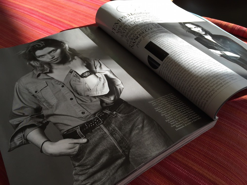 Apple Watch na Vogue Paris