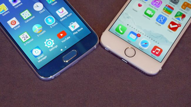 iPhone 6 vs. Galaxy S6