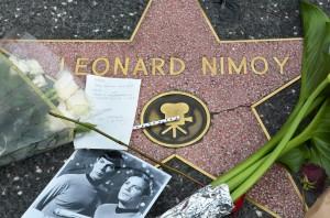 Calçada da fama - Leonard Nimoy