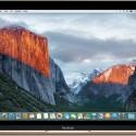 Tela inicial do OS X El Capitan em um MacBook