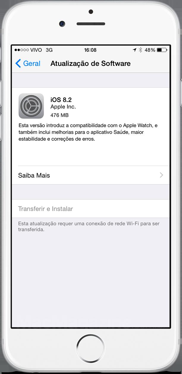 iOS 8.2 liberado