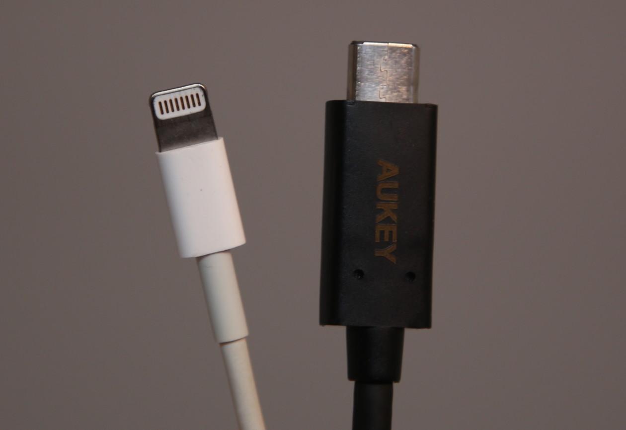 Lightning vs. USB-C