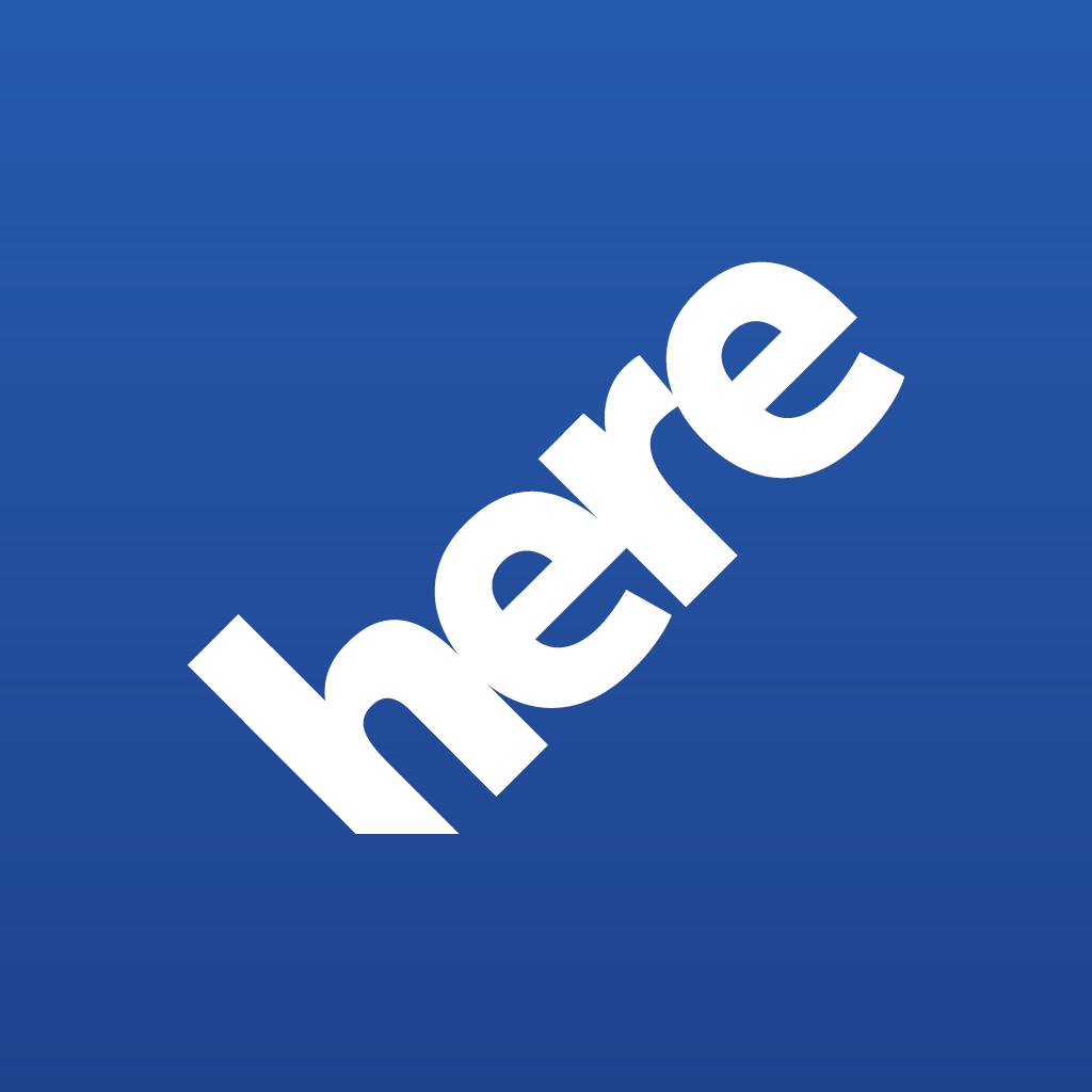 Ícone - HERE da Nokia