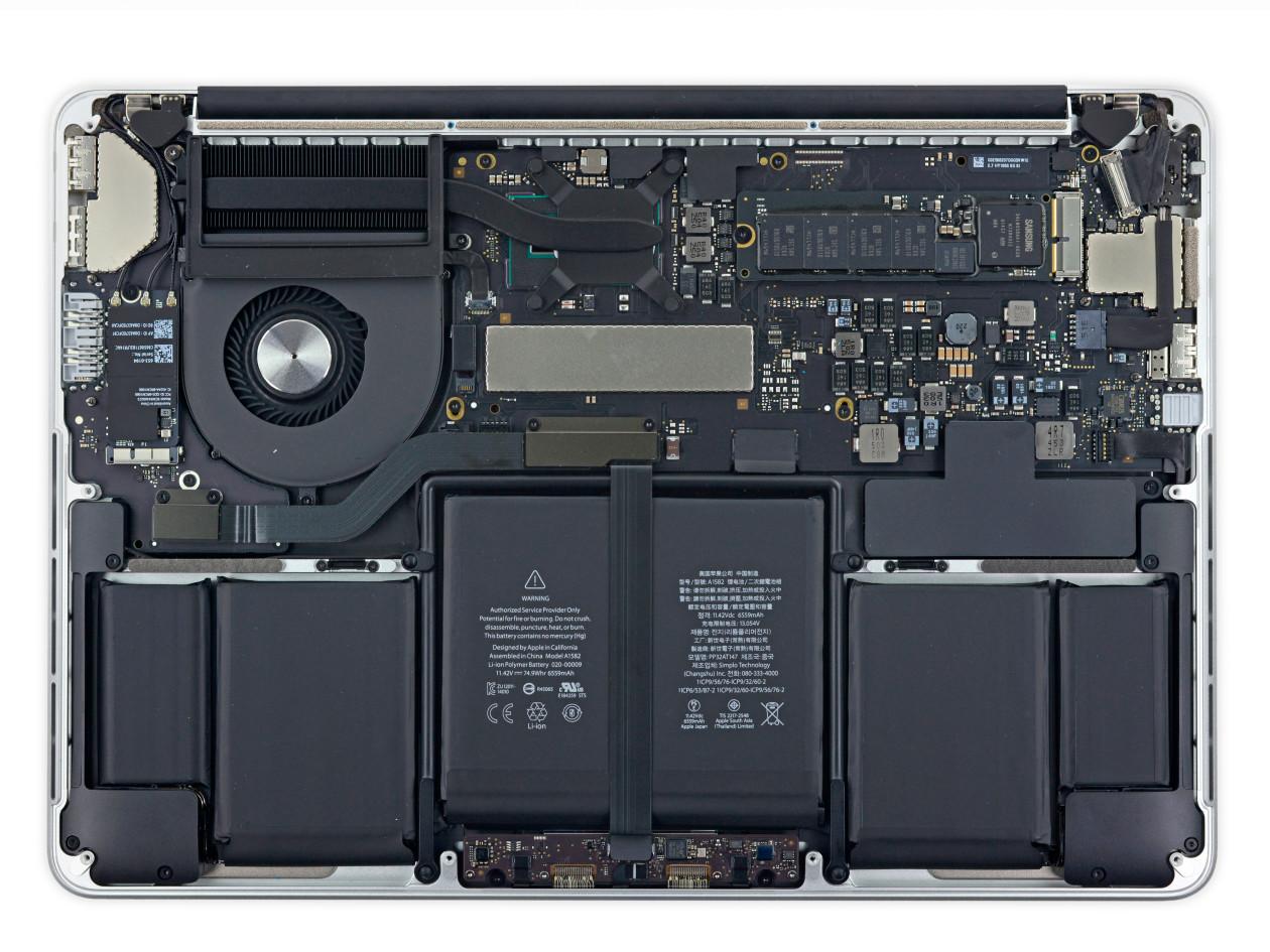 iFixit desmonta novo MacBook Pro de 13 polegadas