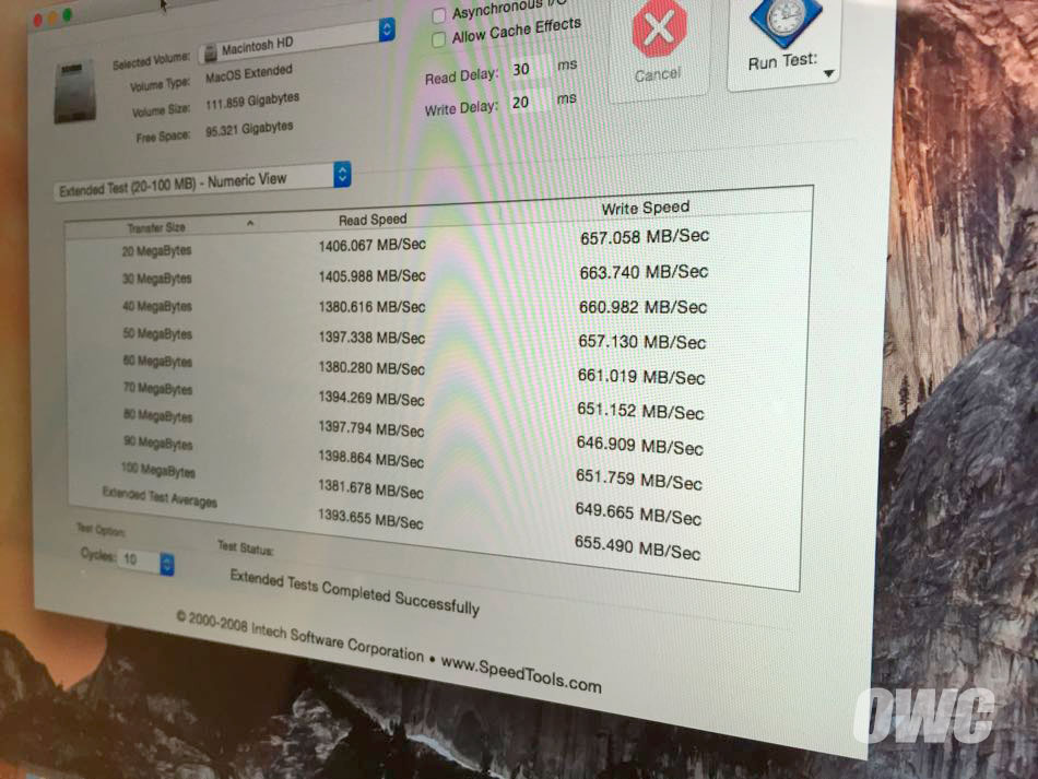 Performance do SSD dos novos MacBooks Air e MacBook Pro