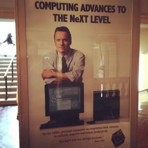 Filme Steve Jobs - Cartaz do lançamento do NeXT