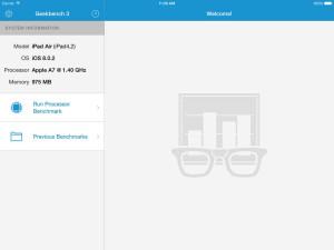 Geekbench para iPad