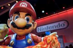 Estátua do Super Mario, da Nintendo