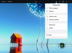 App Pixelmator para iPads