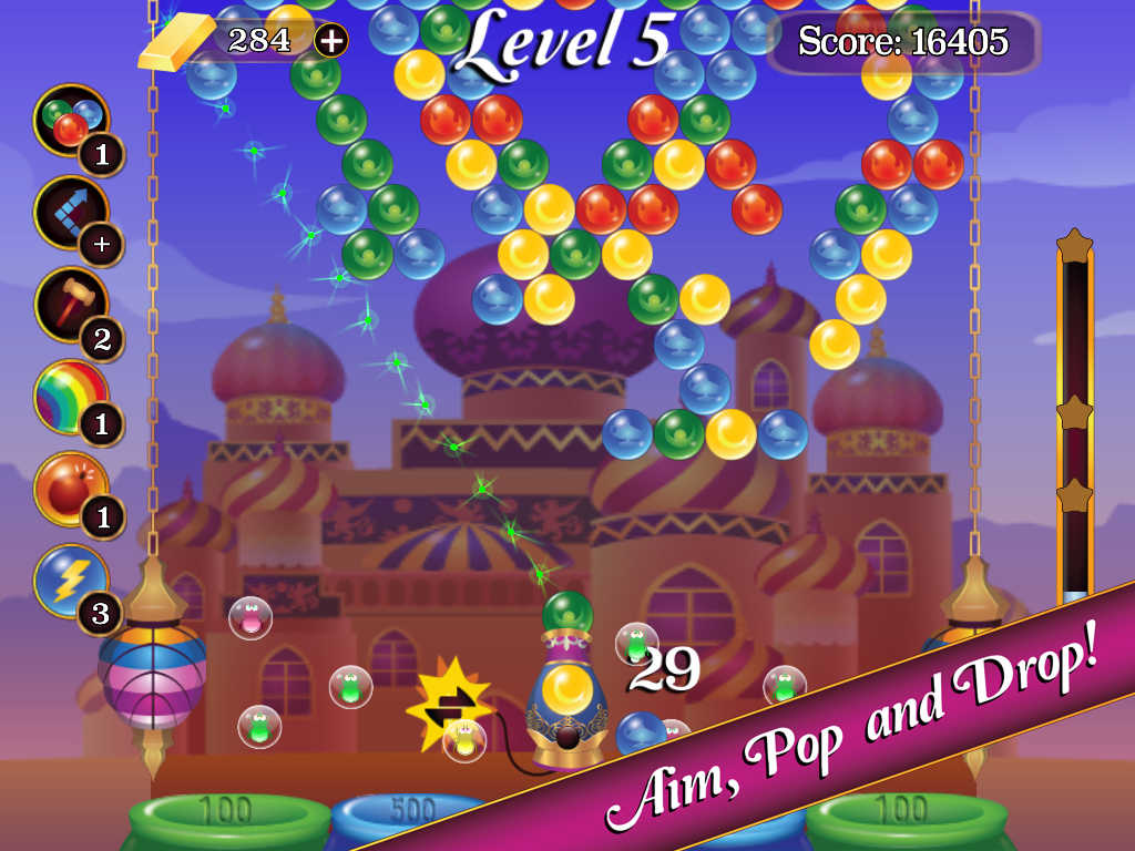 Screenshot de Bubble Nights