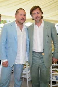 Jonathan Ive e Marc Newson