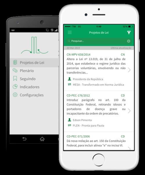 Novo app permite que você acompanhe de perto os projetos de lei que tramitam no Brasil | MacMagazine.com.br