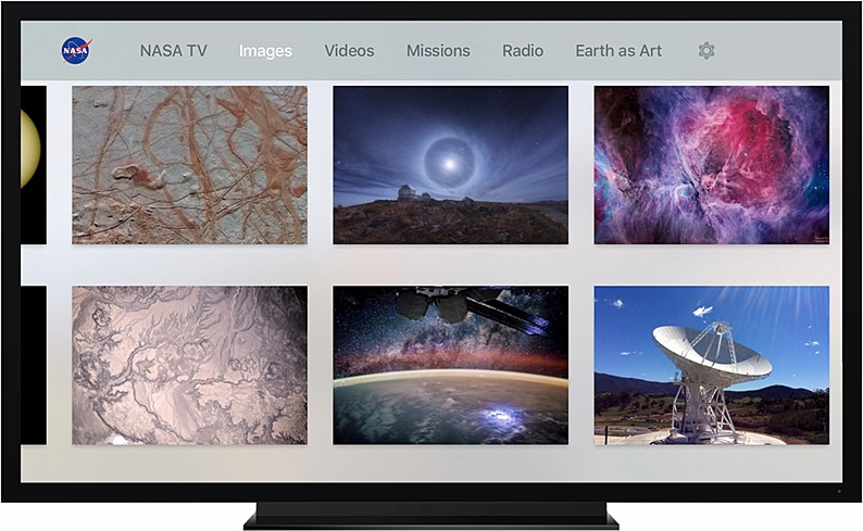 NASA na Apple TV