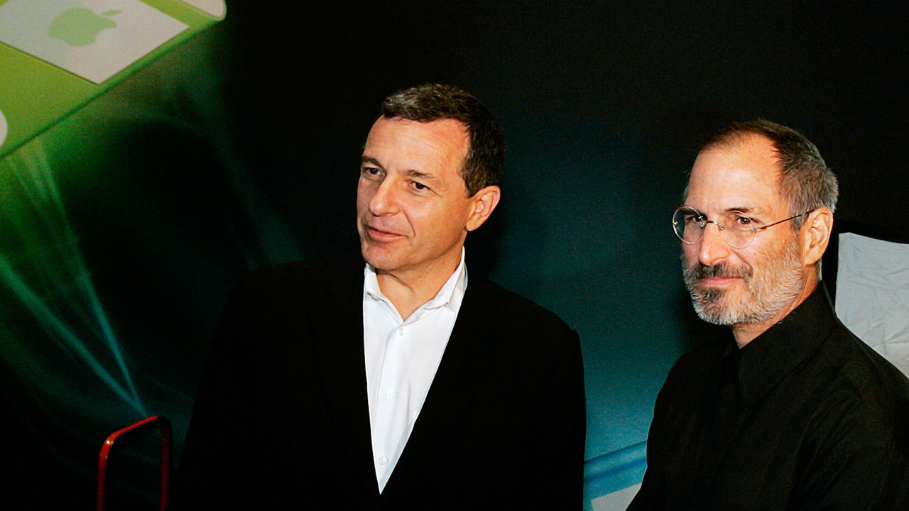 Bob Iger e Steve Jobs