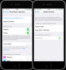 Nova opção de senha no iOS 8.3