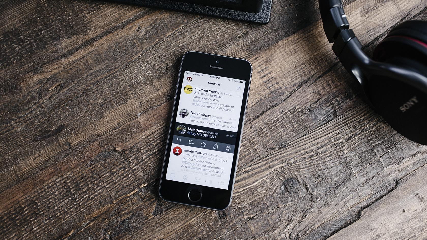 Tweetbot no iPhone