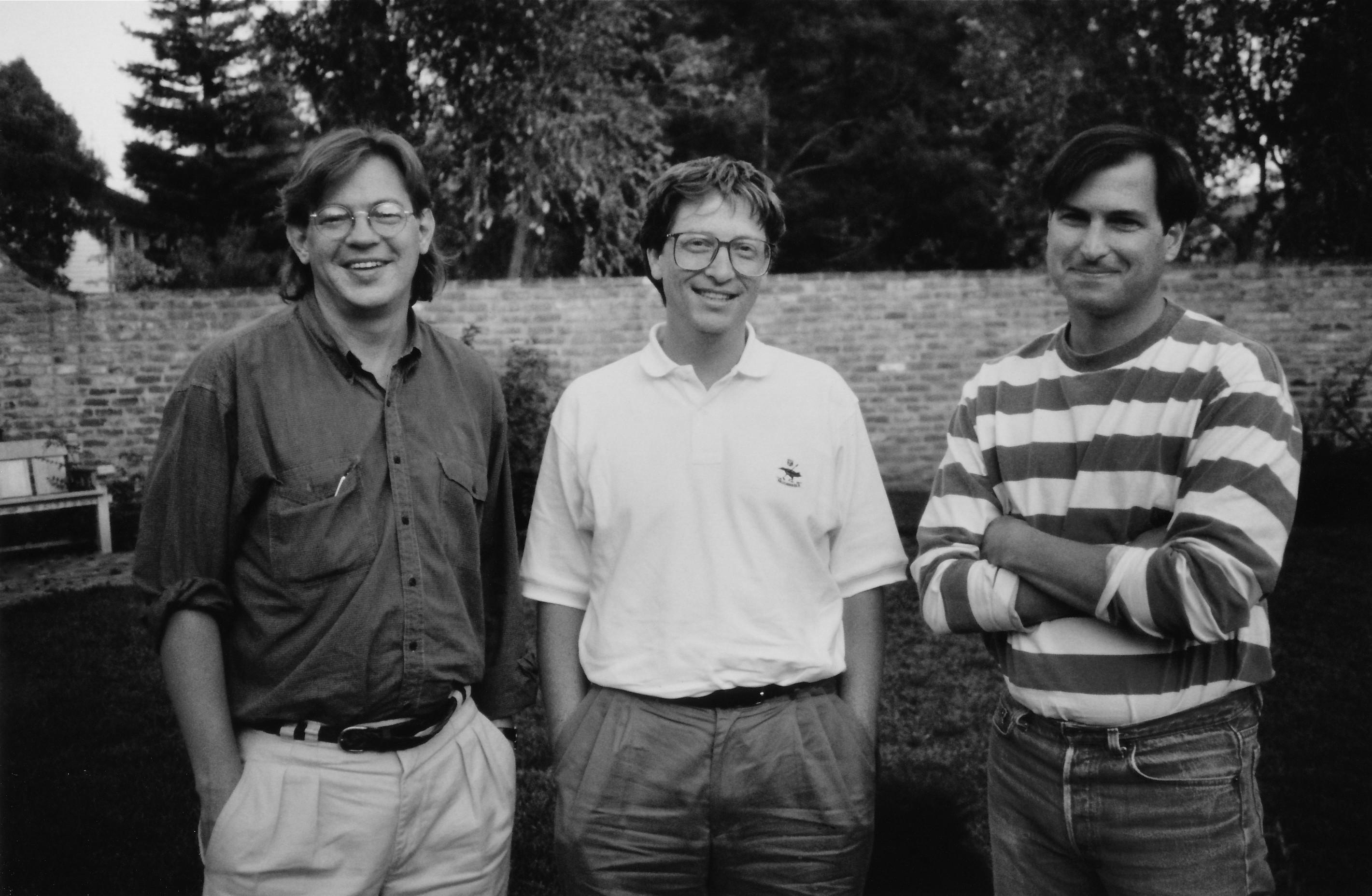 Brent Schlender, Bill Gates e Steve Jobs