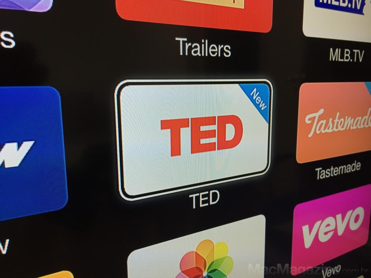 Apple TV ganha mais três canais: TED, Tastemade e Young Hollywood