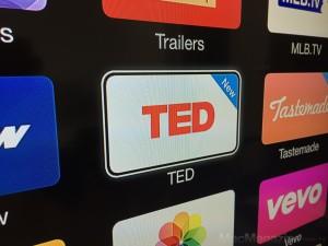 Cana TED para Apple TVs
