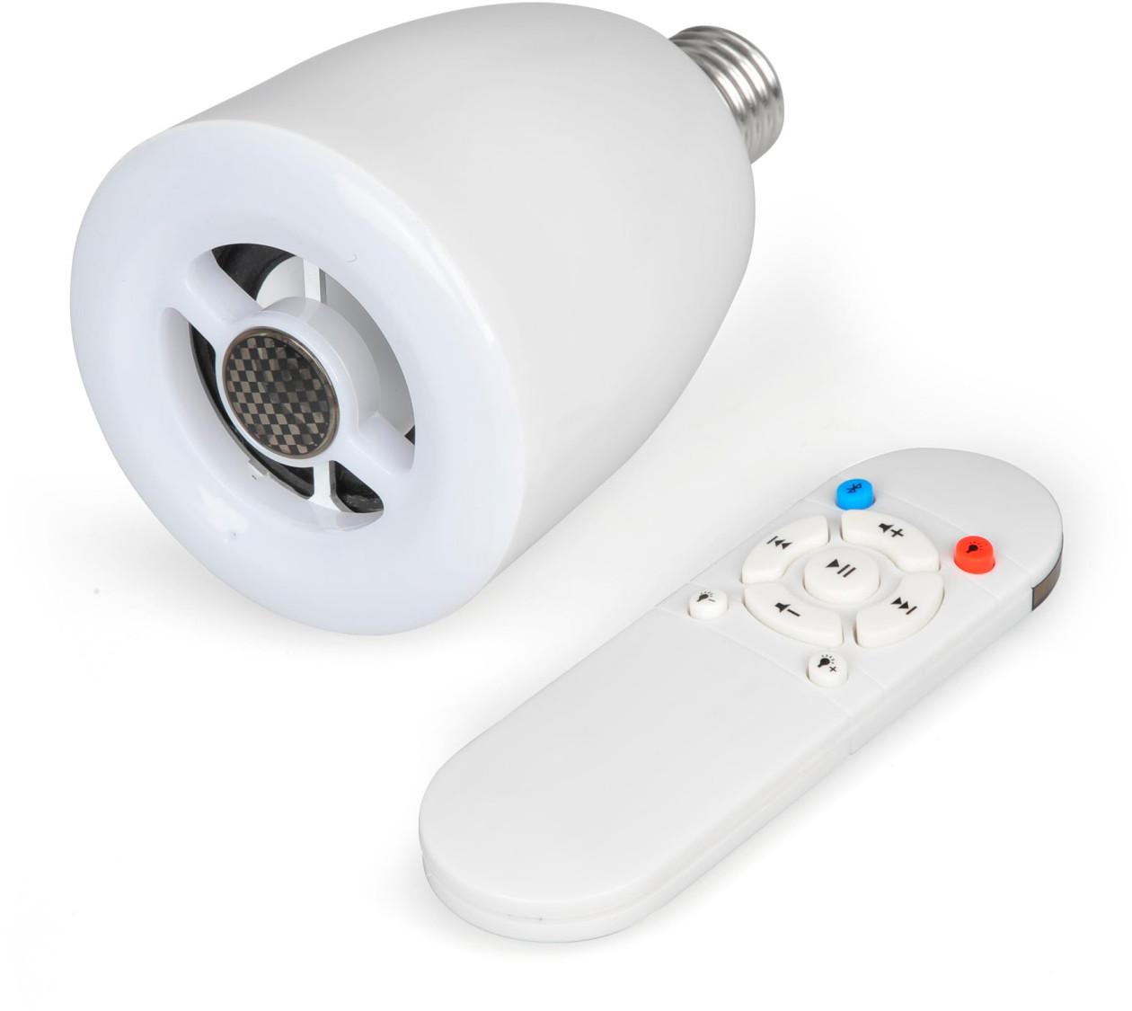 Review: lâmpada LED com alto-falante Bluetooth, da Geonav