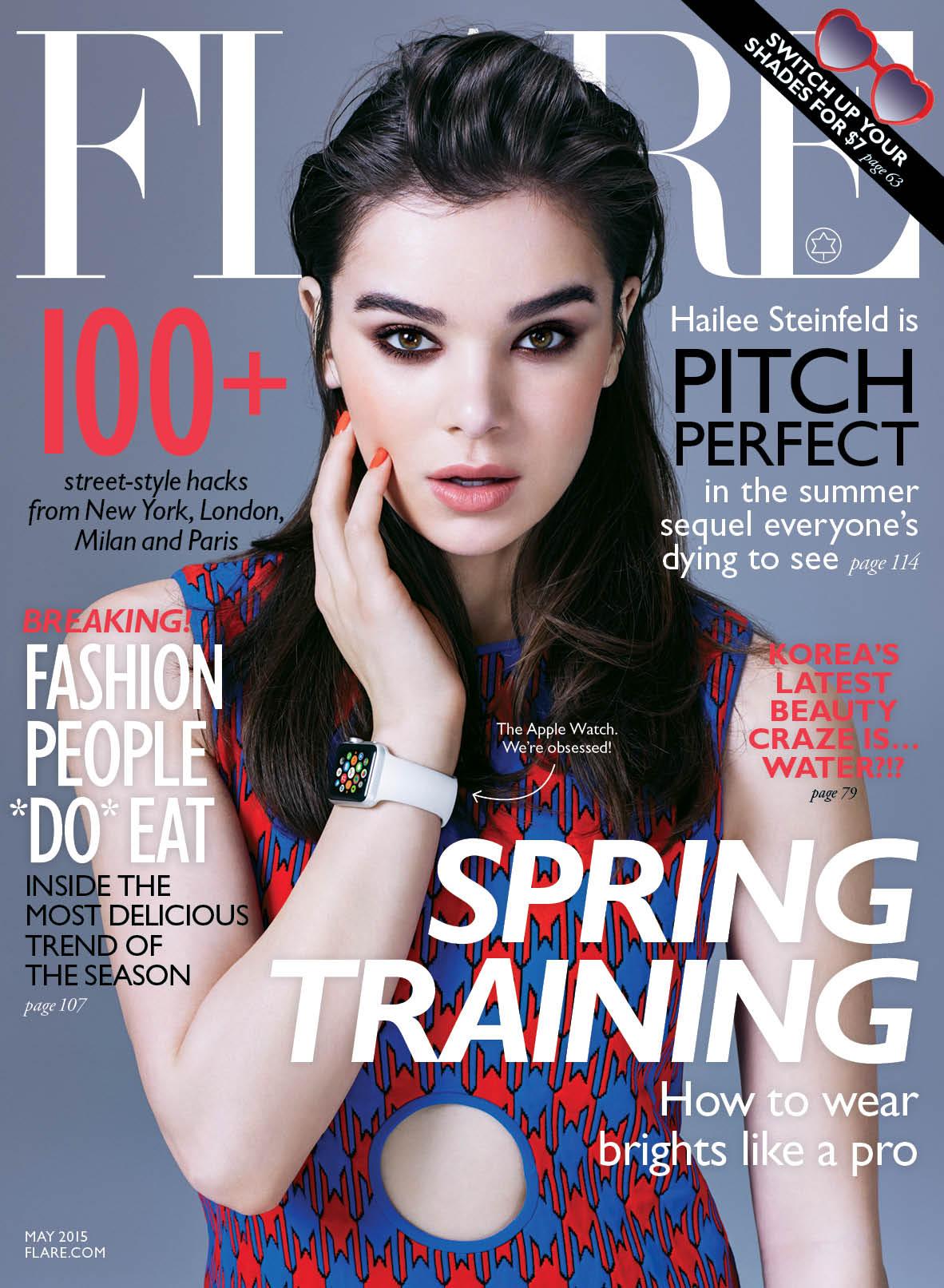 Apple Watch na Capa da revista Flare