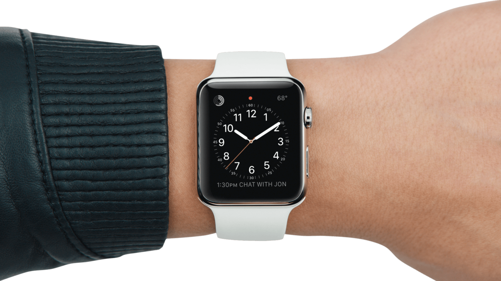 Apple Watch no pulso