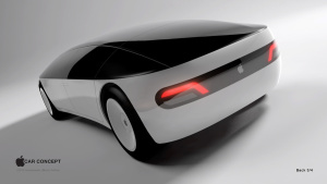 Conceito de Apple Car