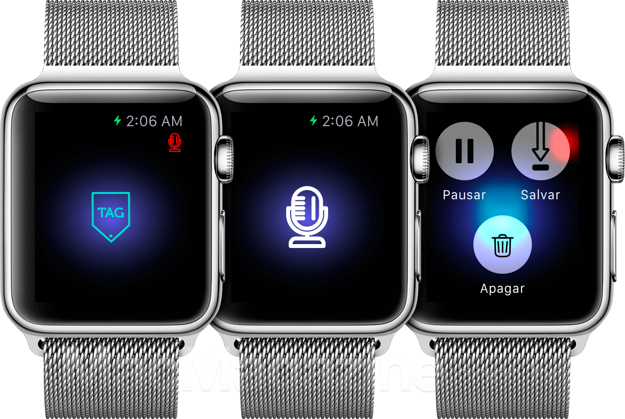 Rectag no Apple Watch
