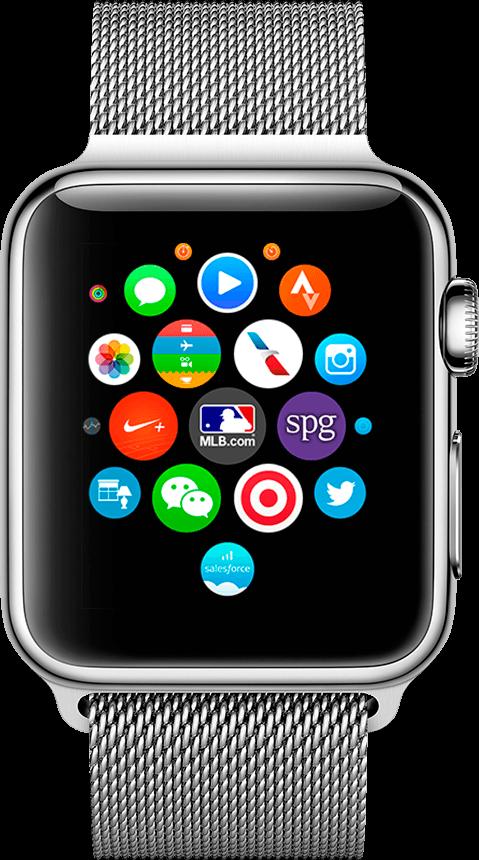 Apple Watch de frente