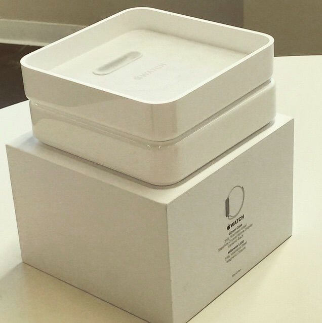 Caixa/embalagem do Apple Watch