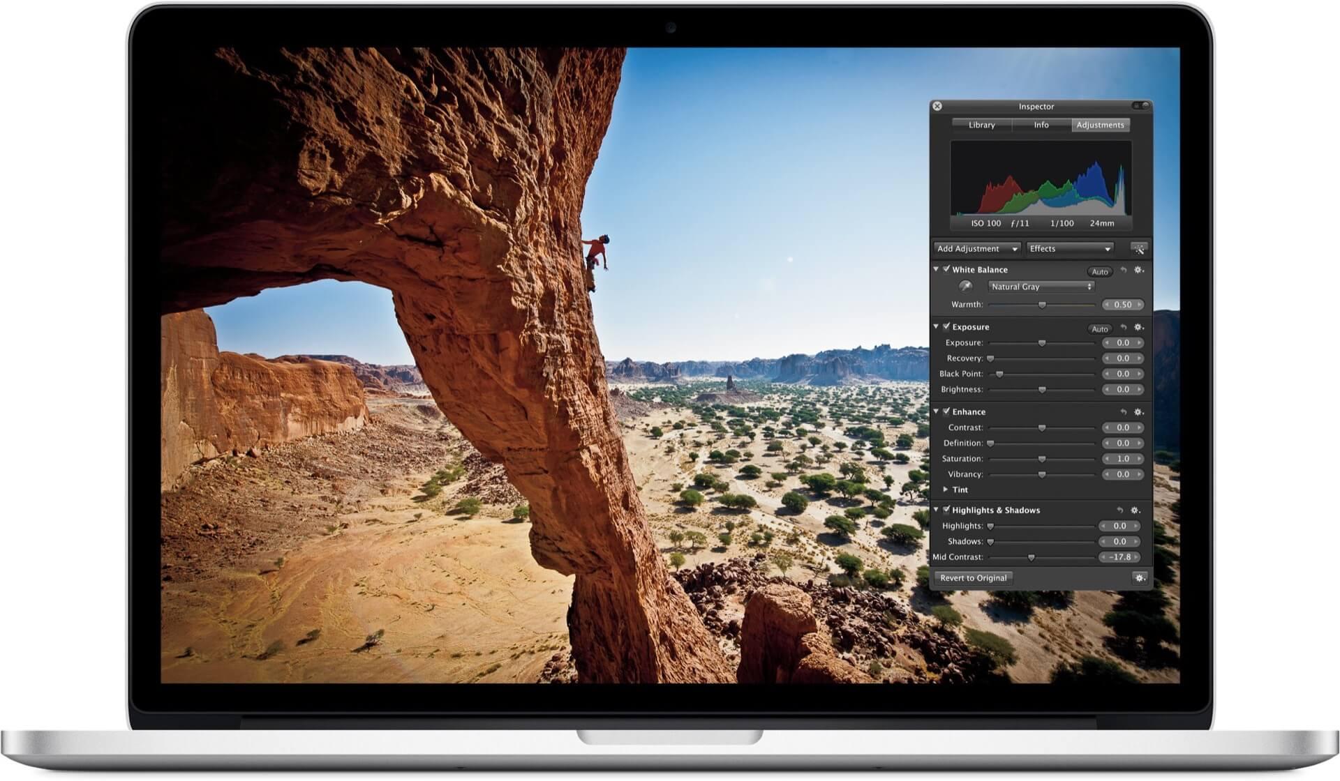 Aperture para OS X
