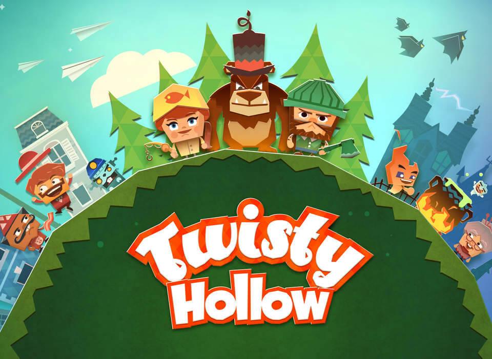 Jogo Twisty Hollow para iOS
