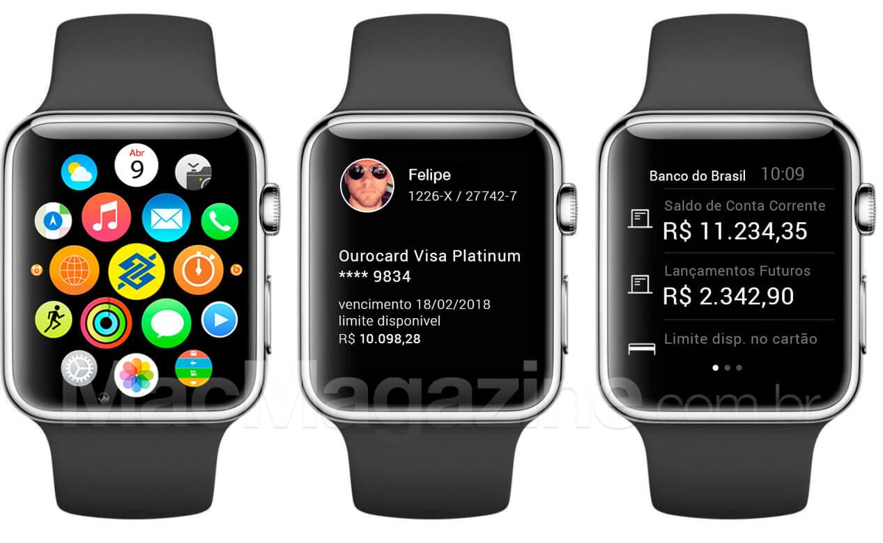 Banco do Brasil para o Apple Watch