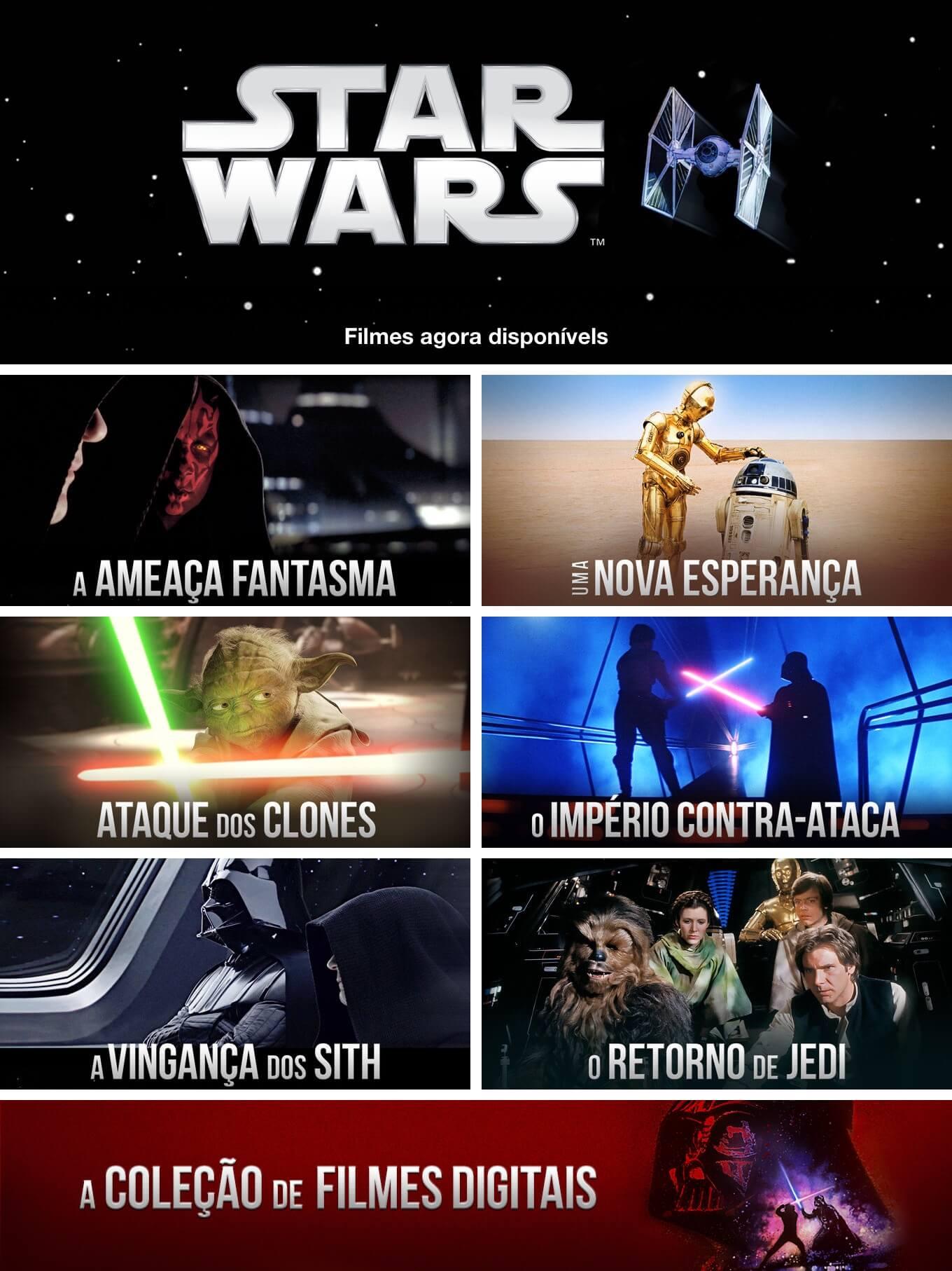 Banner do Star Wars