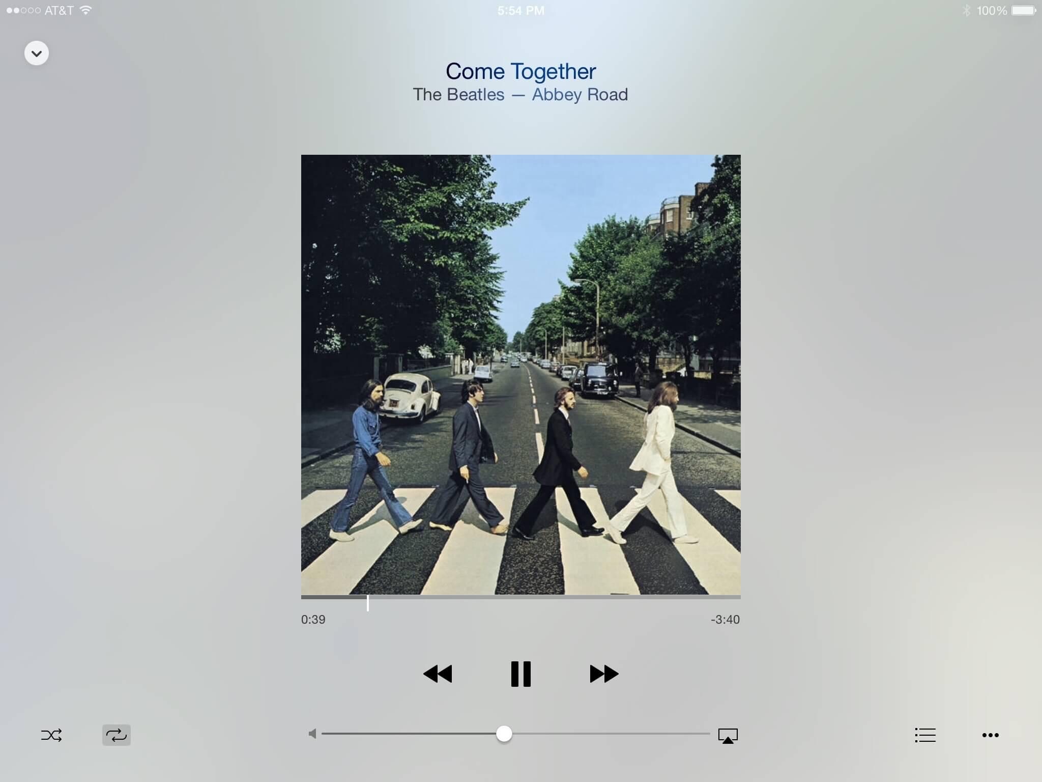 App Música no iOS 8.4