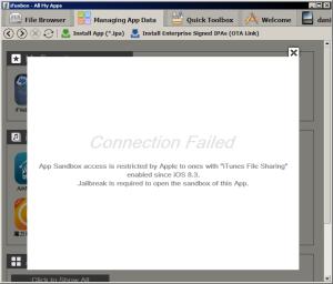iFunBox incompatível com o iOS 8.3