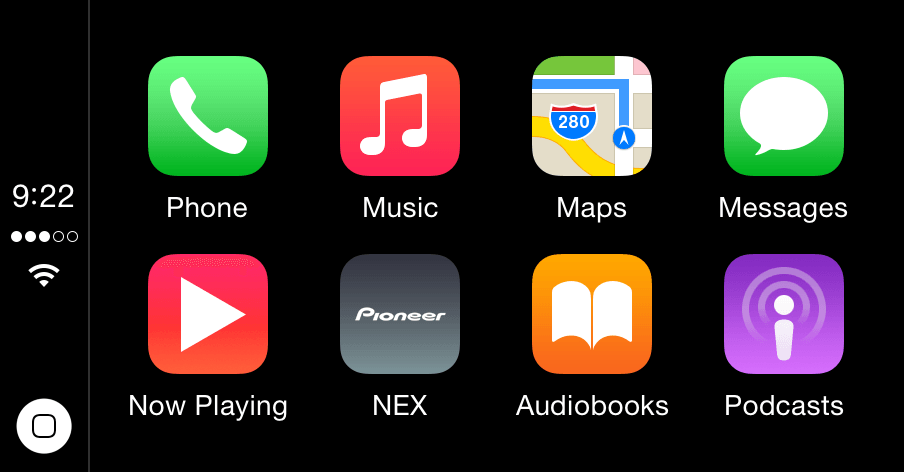 Audiolivros no CarPlay (iOS 8.4)