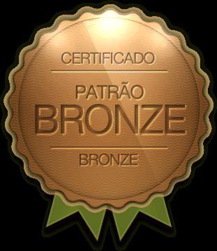 Badge - Patrão Bronze