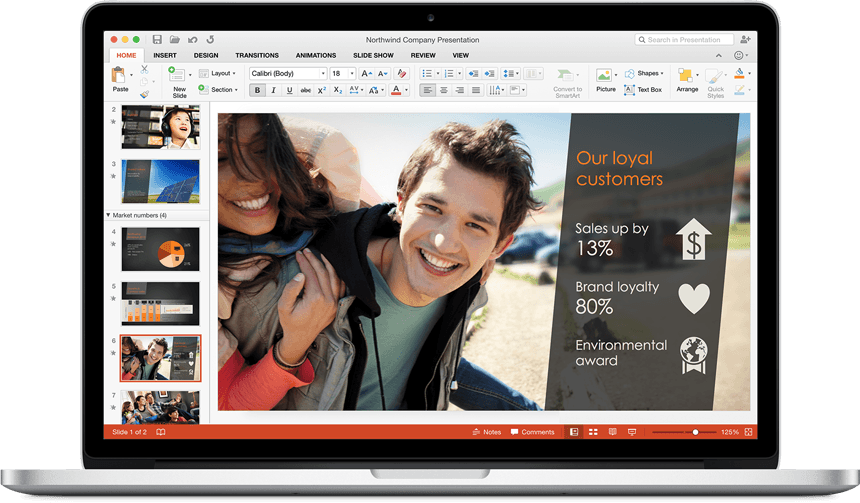 PowerPoint - Office 2016