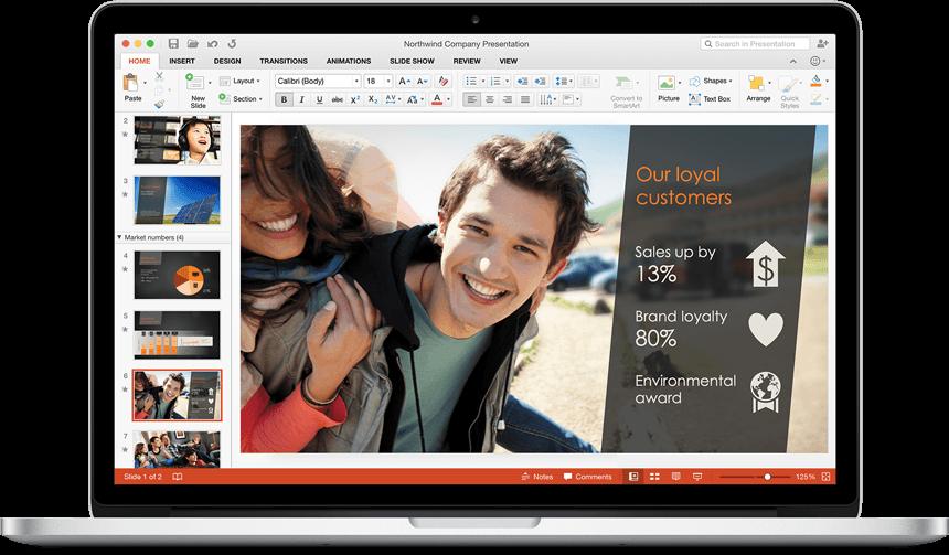 PowerPoint - Office 2016