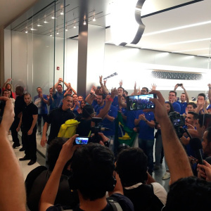 Apple Store - Morumbi abrindo