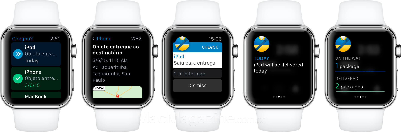 Chegou? para Apple Watch